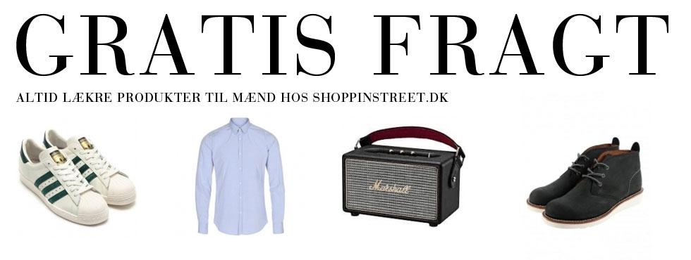 Herre modetøj tilbud- ShoppinStreet.dk - Amagerbrogade København